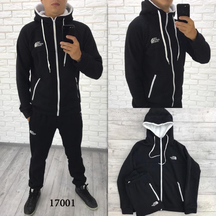 5adea212 Мужской теплый спортивный костюм с капюшоном 17001 купить недорого